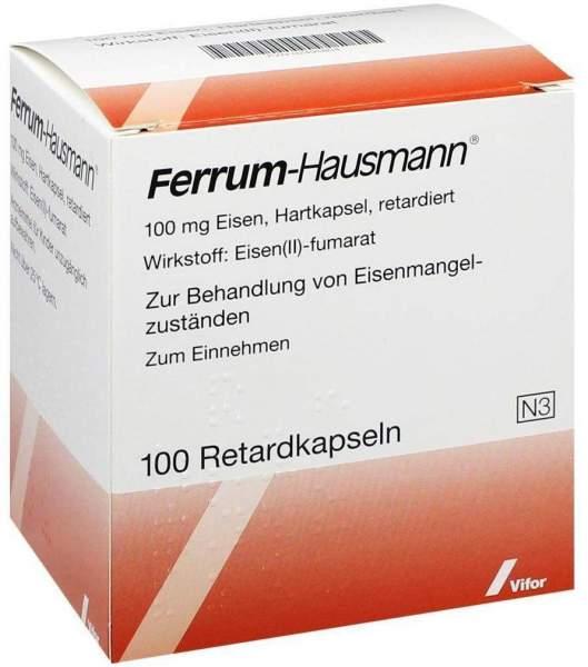 Ferrum Hausmann 100 Retardkapseln