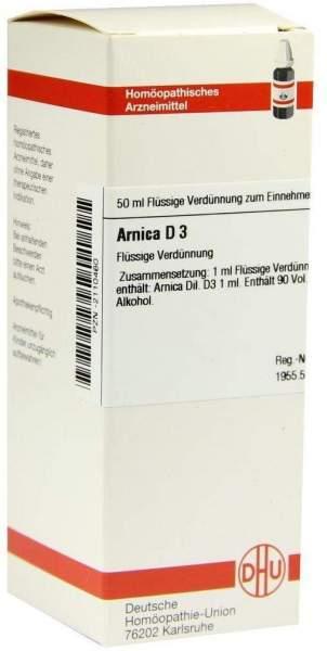 Arnica D 3 50 ml Dilution