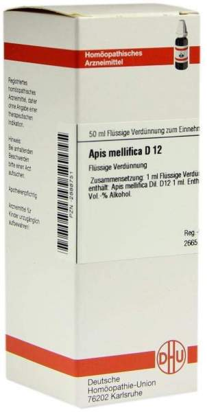 Apis Mellifica D12 50 ml Dilution
