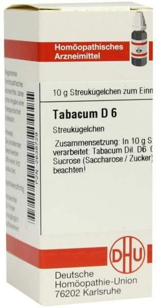 Tabacum D6 10 G Globuli