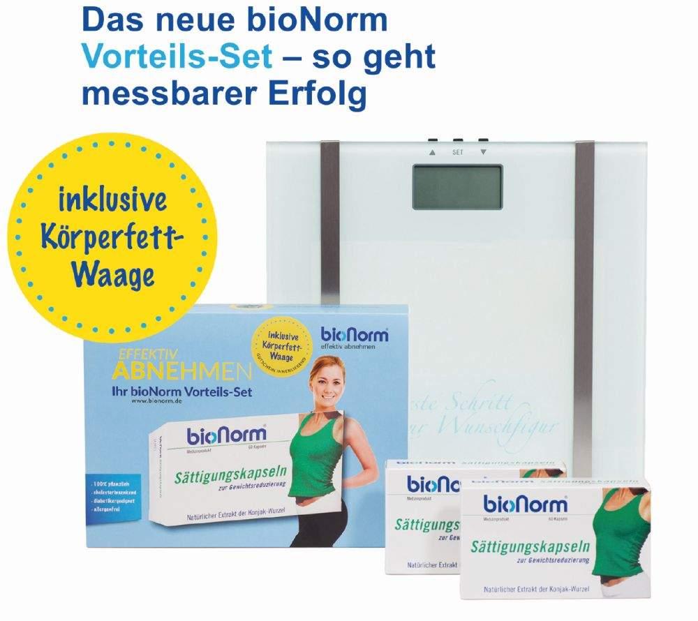BIONORM Sättigungskapseln Vorteils-Set 2 x 60 K...