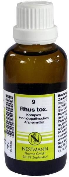 Rhus Tox. Komplex Nr.9 50 ml Dilution