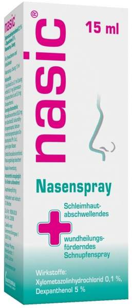 Nasic Nasenspray 15 ml