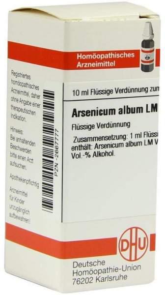 Lm Arsenicum Album Vi
