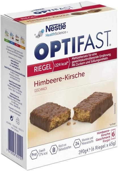 Optifast Riegel Himbeere-Kirsche 6 X 65 G