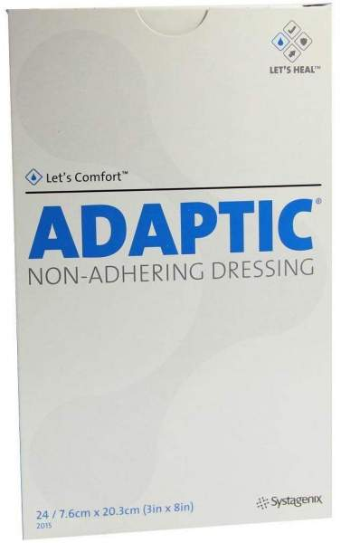 Adaptic 7,6x20,3cm 2015 Feuchte Wundauflage