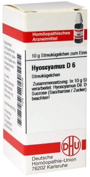 Hyoscyamus D6 10 G Globuli