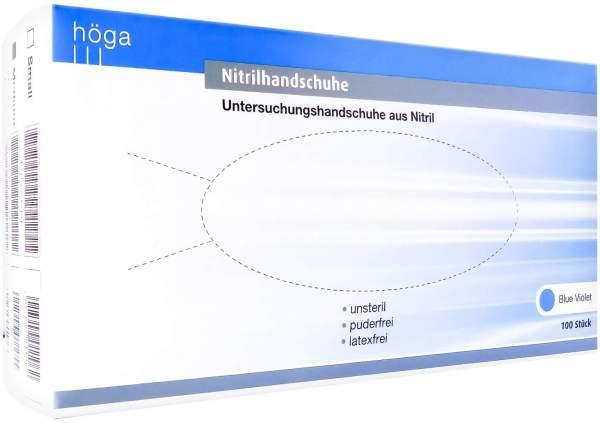 Nitrilhandschuhe Unsteril Puderfrei Gr. M Blue Violet 100 Stück