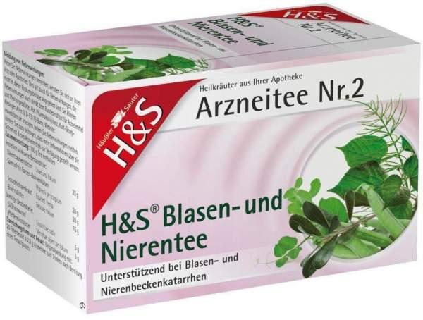H&S Blasen- und Nierentee 20 Filterbeutel