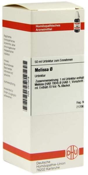 Melissa Urtinktur 50 ml Dilution