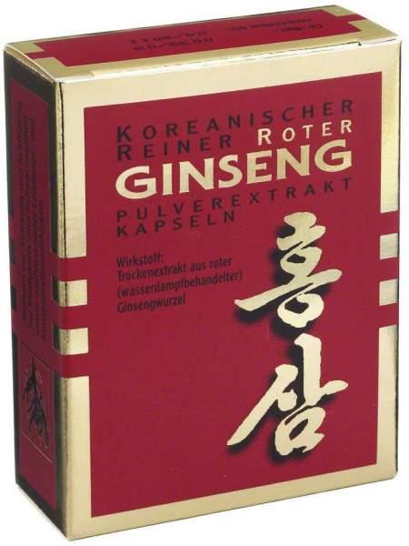 Roter Ginseng Extrakt 30 Kapseln