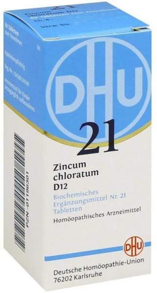 Biochemie Dhu 21 Zincum Chloratum D12 Tabletten 80 Tabletten
