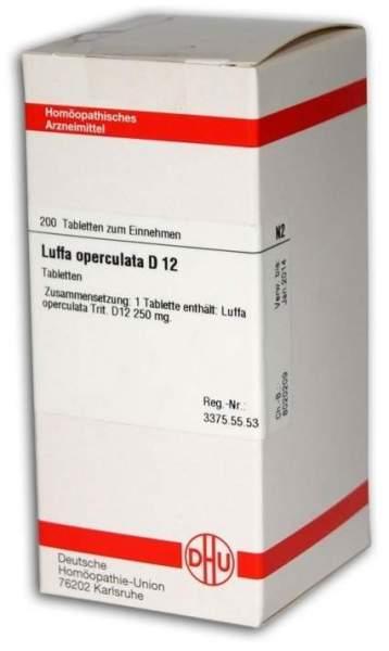 Luffa Operculata D12 Dhu 200 Tabletten