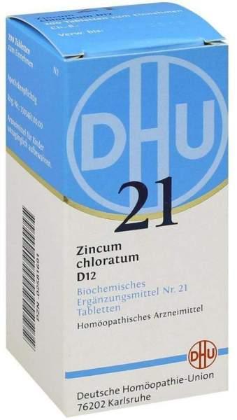 Biochemie Dhu 21 Zincum Chloratum D12 Tabletten 200 Tabletten