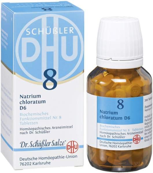 Biochemie DHU 8 Natrium chloratum D6 200 Tabletten