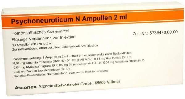 Psychoneuroticum N 10 X 2 ml Ampullen