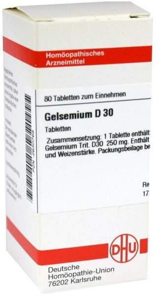 Gelsemium D30 80 Tabletten