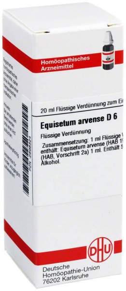 Dhu Equisetum Arvense D6 Dilution