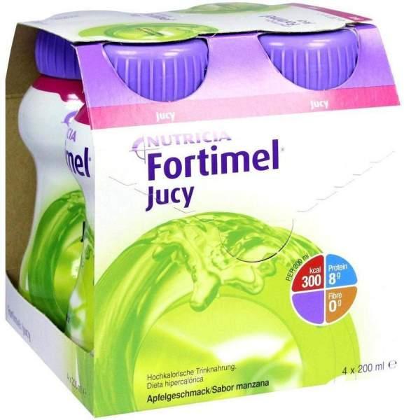 Fortimel Jucy Apfelgeschmack 4 X 200 ml Flüssigkeit