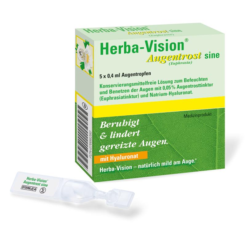 OmniVision GmbH Herba-Vision Augentrost Sine Augentropfen - 5X0.4ml Augentropfen