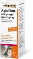 XyloDuo Ratiopharm Nasenspray Erwachsene 10 ml