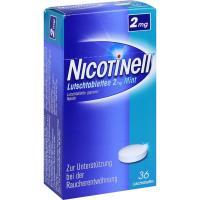 Nicotinell Lutschtabletten 2 mg Mint 36 Stück