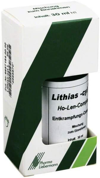 Lithias Cyl L Ho Len Complex Entkrampfungscomplex 30 ml Tropfen