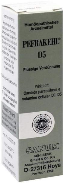 Pefrakehl Tropfen D 5 10 ml Tropfen