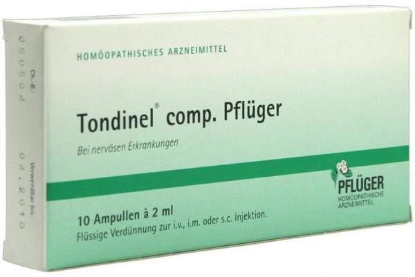 Tondinel Comp. Pflüger 10 X 2 ml Ampullen