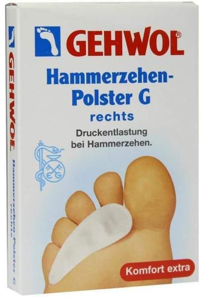 Gehwol Polymer Gel Hammerzehenpolster G Rechts 1 Stück