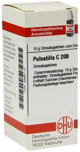 Pulsatilla C200 Globuli 10 G Globuli