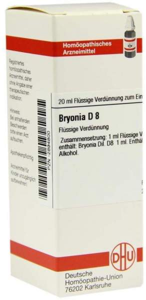 Bryonia D 8 Dilution
