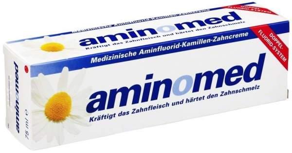 Aminomed Fluorid Kamille 75 ml Zahnpasta