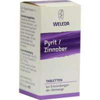 Weleda Pyrit Zinnober 80 Tabletten