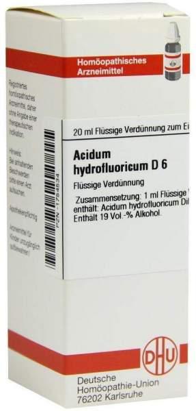 Acidum Hydrofluoricum D 6 20 ml Dilution