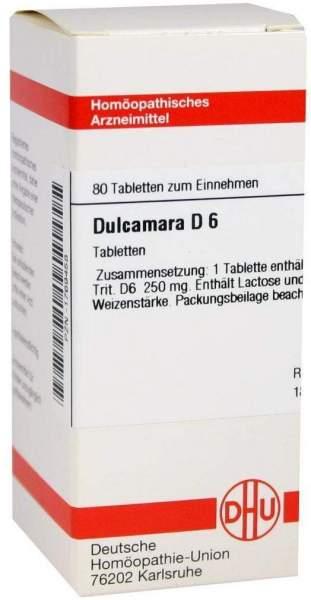 Dulcamara D 6 80 Tabletten