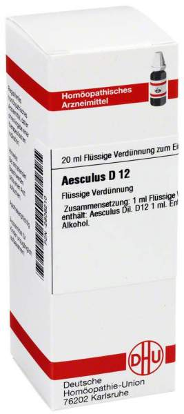 Aesculus D12 20 ml Dilution