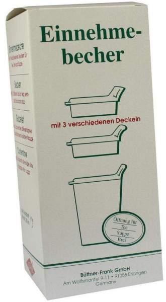 Einnehmebecher Kunststoff mit 3 Trinkdeckeln 1 Stück