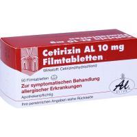 Cetirizin Al 10 mg 50 Filmtabletten