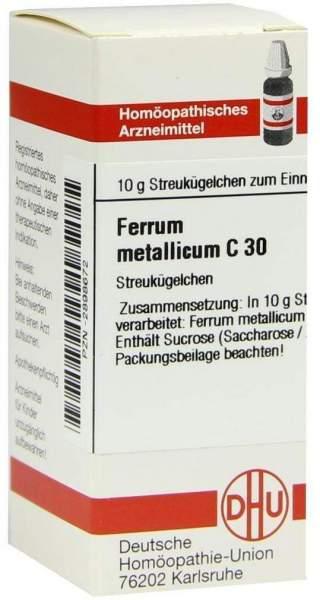 Ferrum Metallicum C 30 Globuli