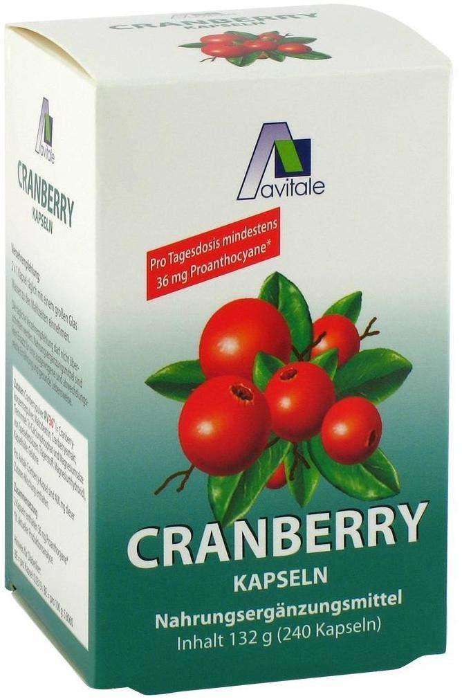cranberry kapseln 400 mg 240 st ck kaufen volksversand. Black Bedroom Furniture Sets. Home Design Ideas