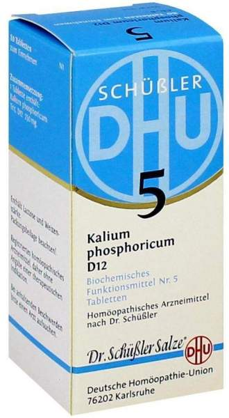 Biochemie Dhu 5 Kalium Phosphoricum D12 80 Tabletten