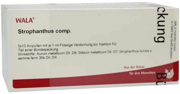 Strophanthus Comp. 50 X 1 ml Ampullen