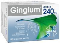 Gingium extra 240mg 120 Filmtabletten