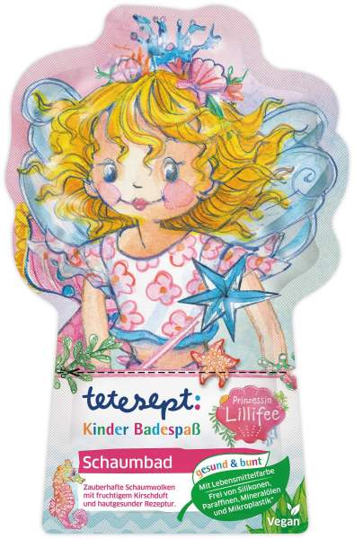 Tetesept Kinder Badespaß Schaumbad Prinzessin Lillifee 40 g