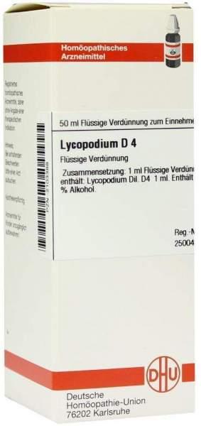 Lycopodium D4 Dhu 50 ml Dilution