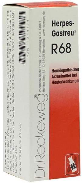 Herpes Gastreu R68 22 ml Tropfen zum Einnehmen