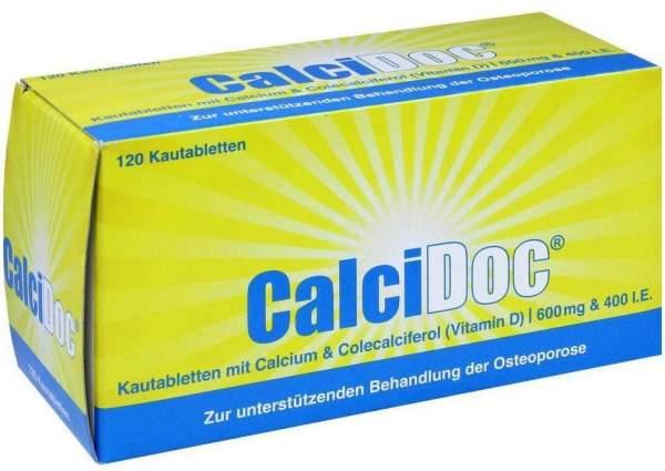 Calcidoc 120 Kautabletten