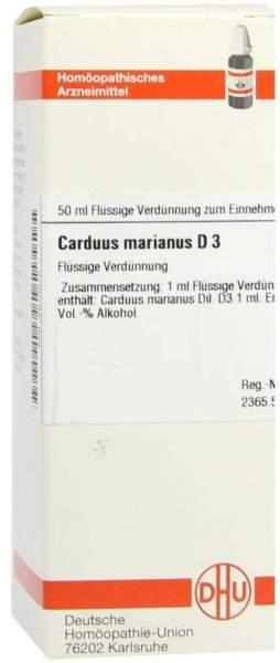 Carduus Marianus D3 50 ml Dilution