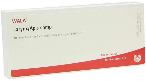 Wala Larynx Apis Comp. 10 X 1 ml